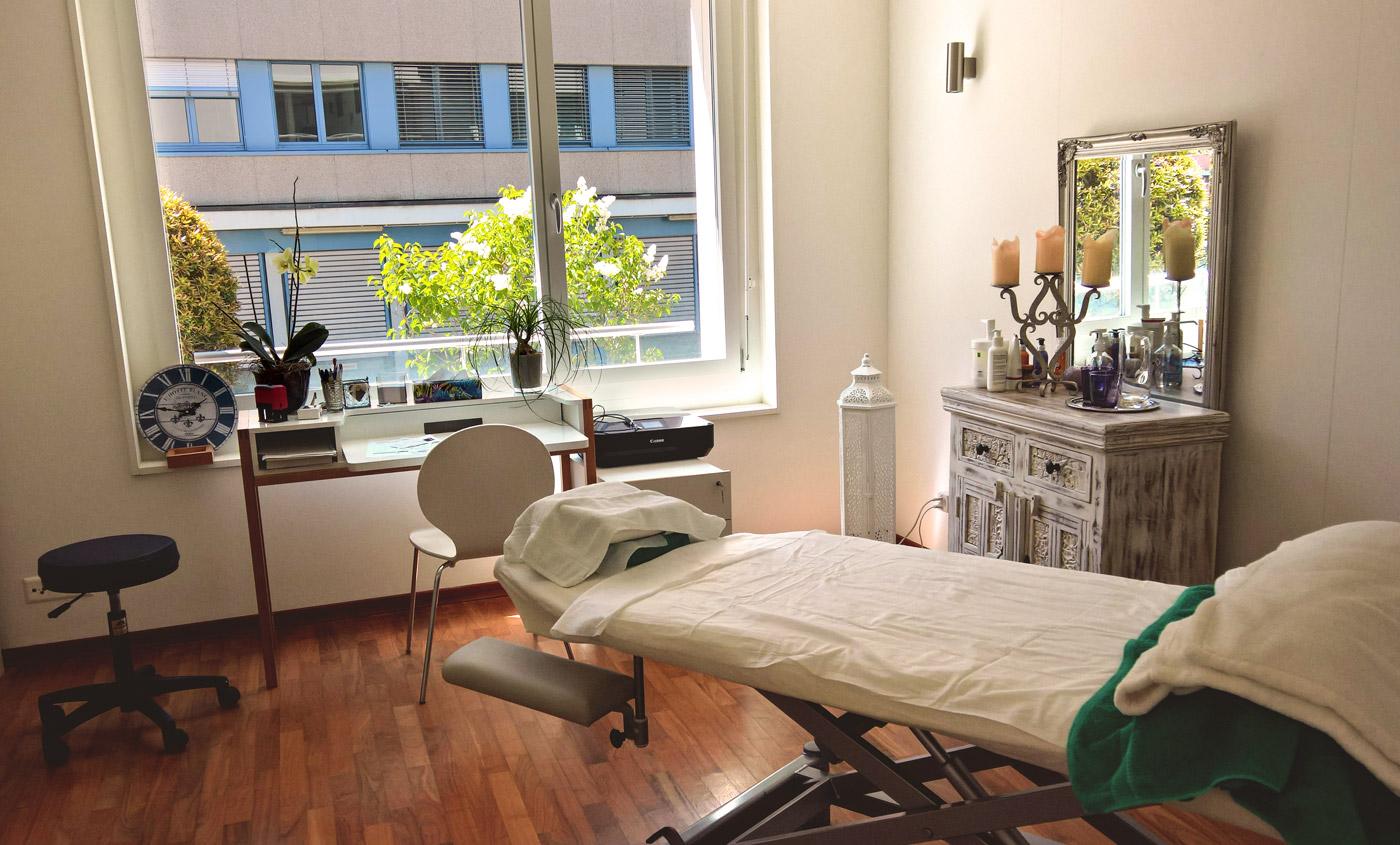 Massage in Zürich, Praxis, Reinhardstrasse 5 - finn-med-massage.ch